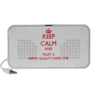 Keep Calm and Trust a Water Quality Inspector Speaker System