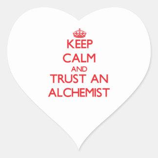 Keep Calm and Trust an Alchemist Stickers
