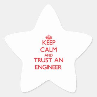 Keep Calm and Trust an Engineer Sticker