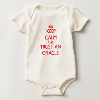 Keep Calm and Trust an Oracle Baby Bodysuit