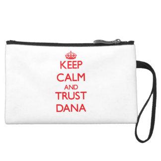 Keep Calm and TRUST Dana Wristlet Purses