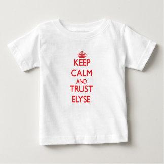 Keep Calm and TRUST Elyse Tee Shirts