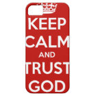 Keep Calm and Trust God iPhone 5 Cover
