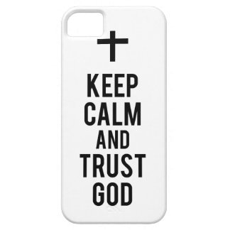 Keep Calm And Trust God IPhone Case iPhone 5 Covers