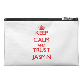 Keep Calm and TRUST Jasmin Travel Accessories Bags
