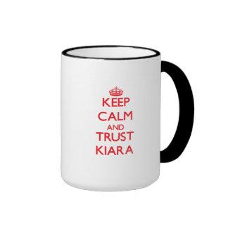 Keep Calm and TRUST Kiara Mugs