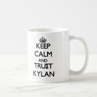 Keep Calm and TRUST Kylan Mugs