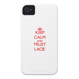 Keep Calm and TRUST Lacie iPhone 4 Case-Mate Cases