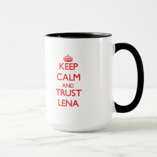 Keep Calm and TRUST Lena Mug
