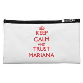 Keep Calm and TRUST Mariana Cosmetic Bag