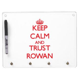 Keep Calm and TRUST Rowan Dry-Erase Whiteboard