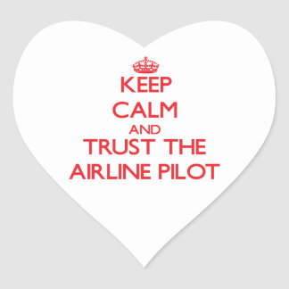 Keep Calm and Trust the Airline Stickers