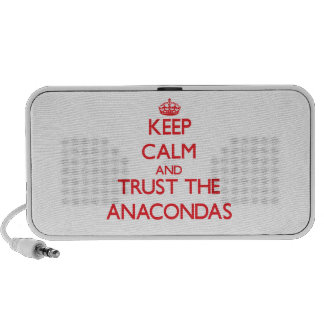 Keep calm and Trust the Anacondas Notebook Speakers