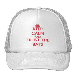 Keep calm and Trust the Bats Trucker Hats