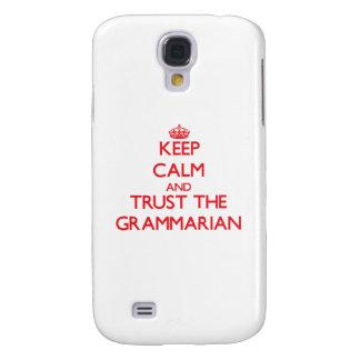 Keep Calm and Trust the Grammarian HTC Vivid / Raider 4G Cover