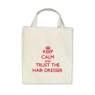 Keep Calm and Trust the Hair Dresser Bag