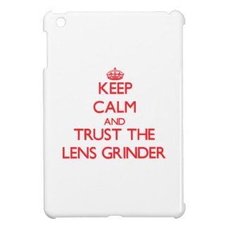 Keep Calm and Trust the Lens Grinder iPad Mini Case