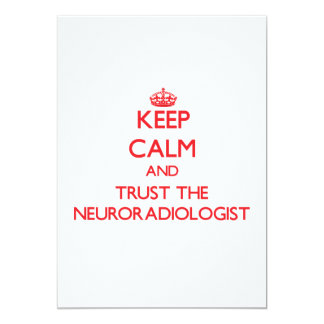 Keep Calm and Trust the Neuroradiologist Announcement