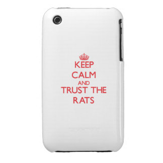 Keep calm and Trust the Rats iPhone 3 Case-Mate Case
