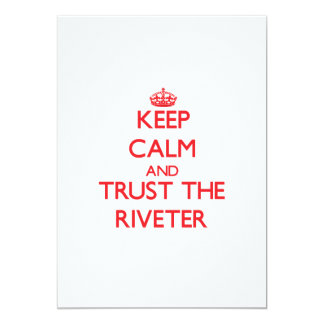 Keep Calm and Trust the Riveter Cards