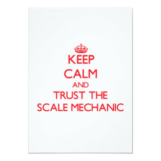 Keep Calm and Trust the Scale Mechanic Announcements