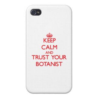 Keep Calm and trust your Botanist iPhone 4/4S Cover