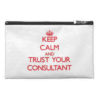 Keep Calm and trust your Consultant Travel Accessory Bags