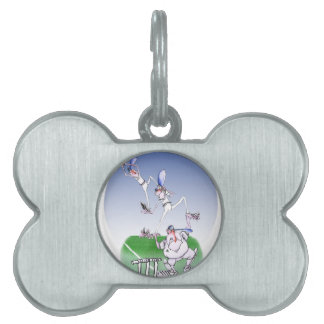 keep calm and trust your mates, tony fernandes pet ID tags