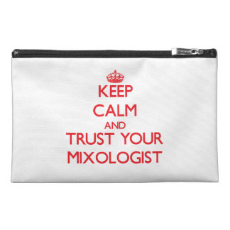 Keep Calm and trust your Mixologist Travel Accessories Bag
