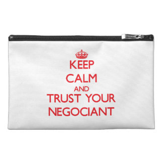 Keep Calm and trust your Negociant Travel Accessories Bag