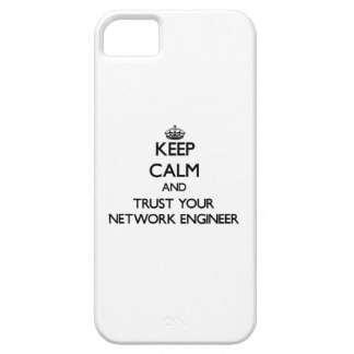 Keep Calm and Trust Your Network Engineer iPhone 5 Case