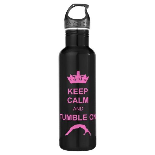 Keep calm and tumble gymnast 710 ml water