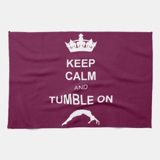 Keep Calm and Tumble on Tea Towel