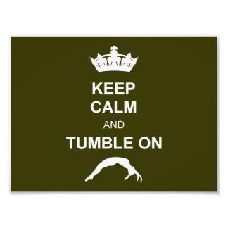 Keep calm and tumble photograph