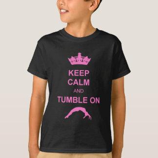 Keep calm and tumble pink T-Shirt