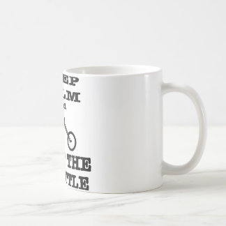 Keep Calm And Twist The Throttle Biker Coffee Mug