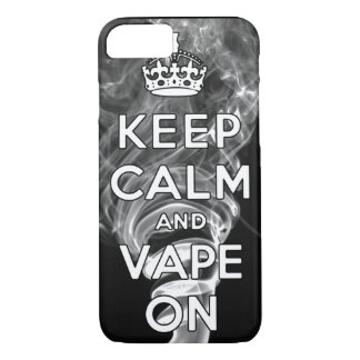 Keep Calm And Vape On iPhone 8/7 Case