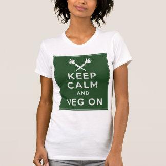 Keep Calm and Veg On T-Shirt