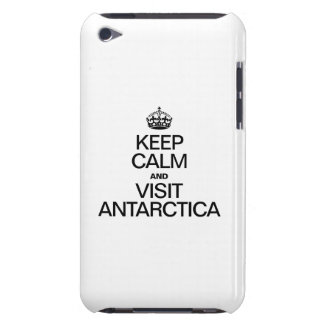 KEEP CALM AND VISIT ANTARCTICA BARELY THERE iPod CASE