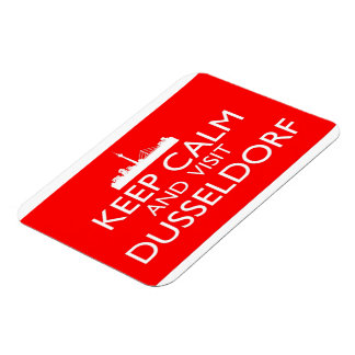 Keep Calm and Visit Dusseldorf - Germany Magnet