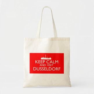 Keep Calm and Visit Dusseldorf Budget Tote Bag