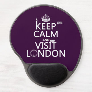 Keep Calm and Visit London Gel Mouse Mat