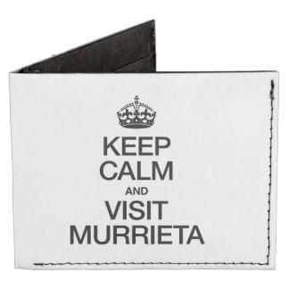 KEEP CALM AND VISIT MURRIETA TYVEK® BILLFOLD WALLET