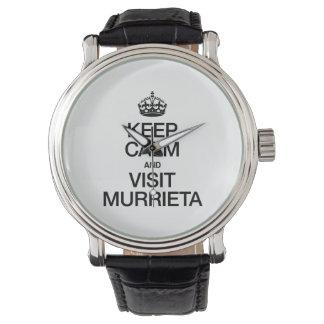 KEEP CALM AND VISIT MURRIETA WRISTWATCHES