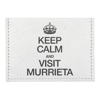 KEEP CALM AND VISIT MURRIETA TYVEK® CARD CASE WALLET