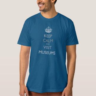 """""""Keep Calm And Visit Museums"""" shirt"""