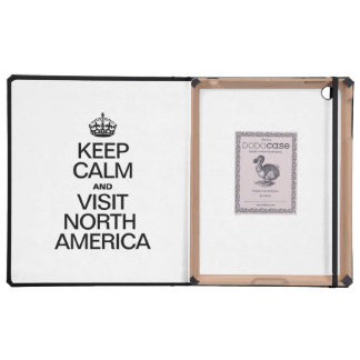 KEEP CALM AND VISIT NORTH AMERICA COVERS FOR iPad