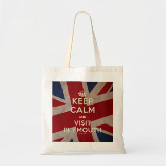 'Keep Calm and Visit Plymouth' Bag