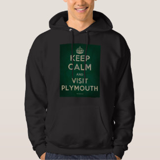 Keep Calm and Visit Plymouth Hoody