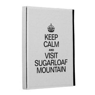 KEEP CALM AND VISIT SUGARLOAF MOUNTAIN iPad FOLIO CASE